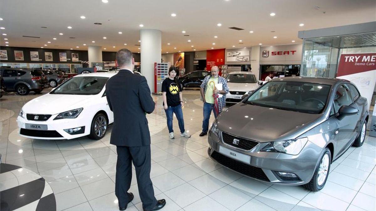 El mercado automovilístico español se desplomó un 51,5% en enero