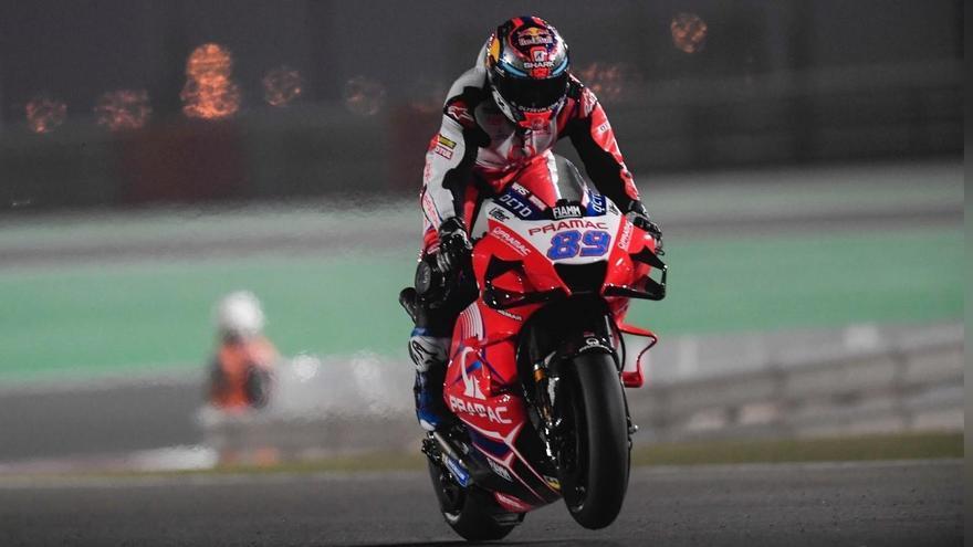 Jorge Martín sorprende con la pole en su segunda carrera en MotoGP