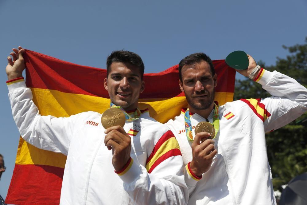 Juegos Olímpicos Río 2016 | El oro de Cristian Toro y Saúl Craviotto en fotos
