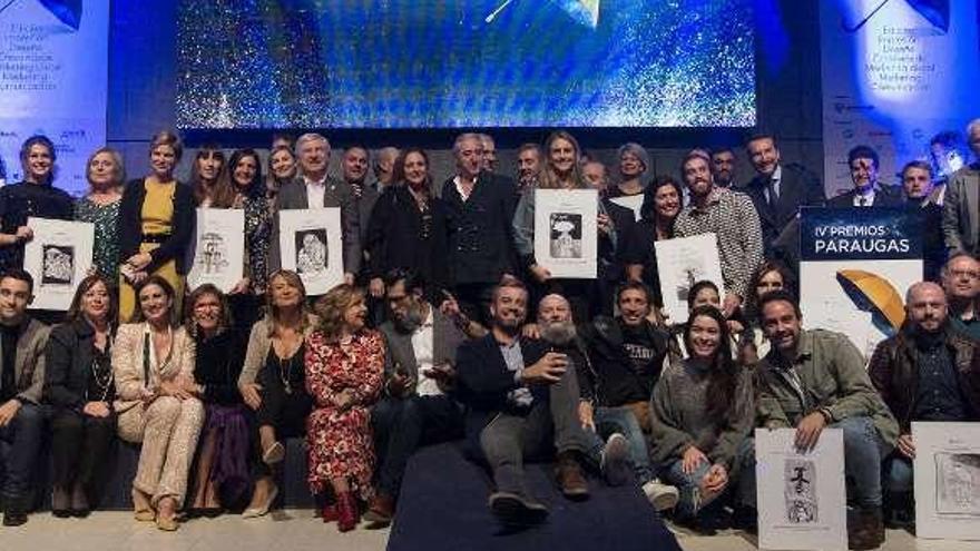 El Grupo Nueva Pescanova recibe dos premios Paraugas en Expourense