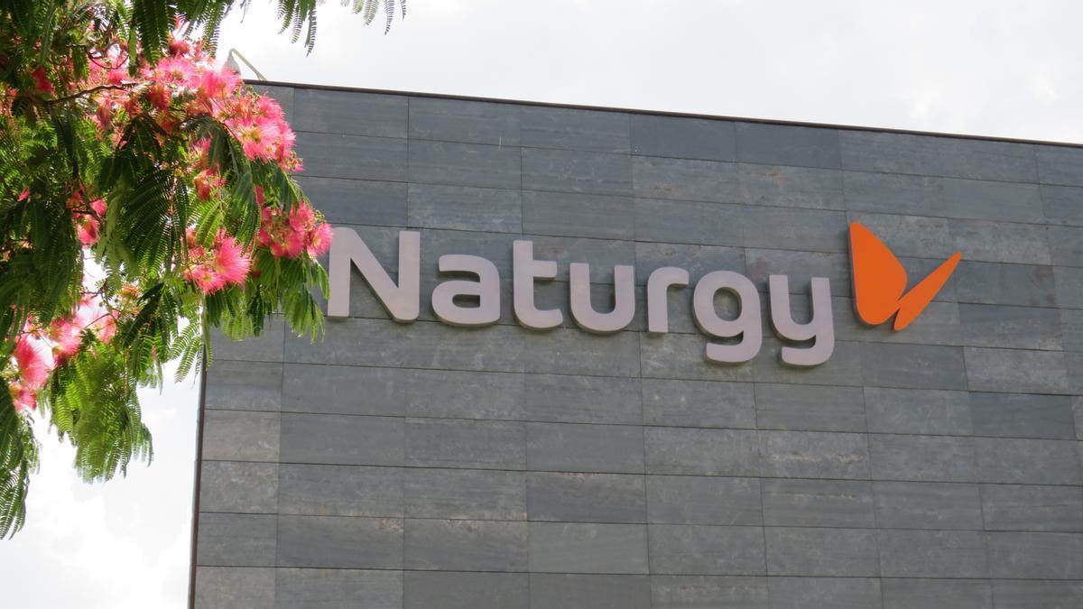 Una imagen de la sede de Naturgy en Madrid.