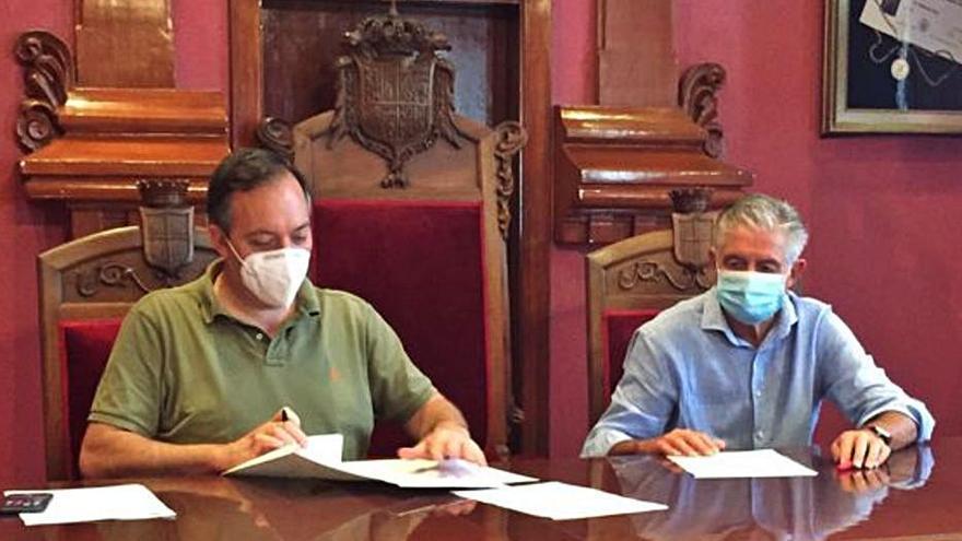 Villaviciosa cierra el acuerdo para los usos del edificio del Ateneo Obrero