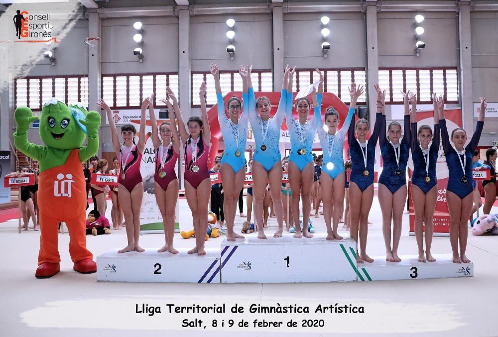 El BOT Gym de Figueres suma les primeres medalles