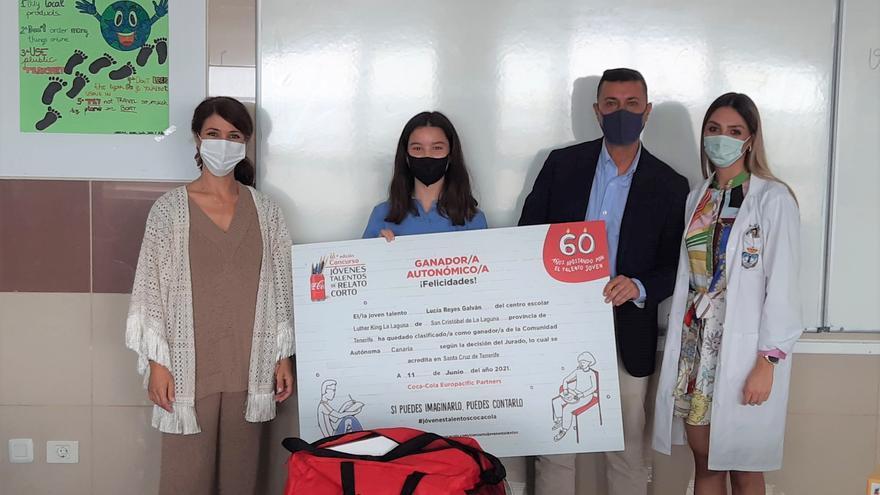 Lucía Reyes Galván, ganadora de la 60 edición del concurso de relato corto