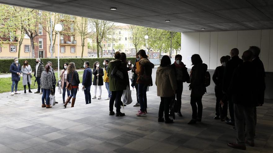 VÍDEO   Zamora acoge este domingo el primer examen de oposición regional de médicos: así es el ambiente