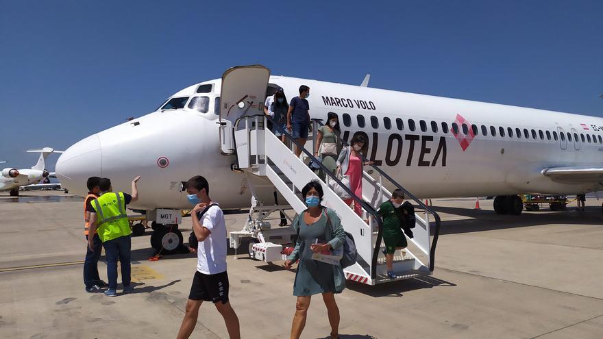 El aeropuerto de Castellón remonta el vuelo y crece un 22% en verano