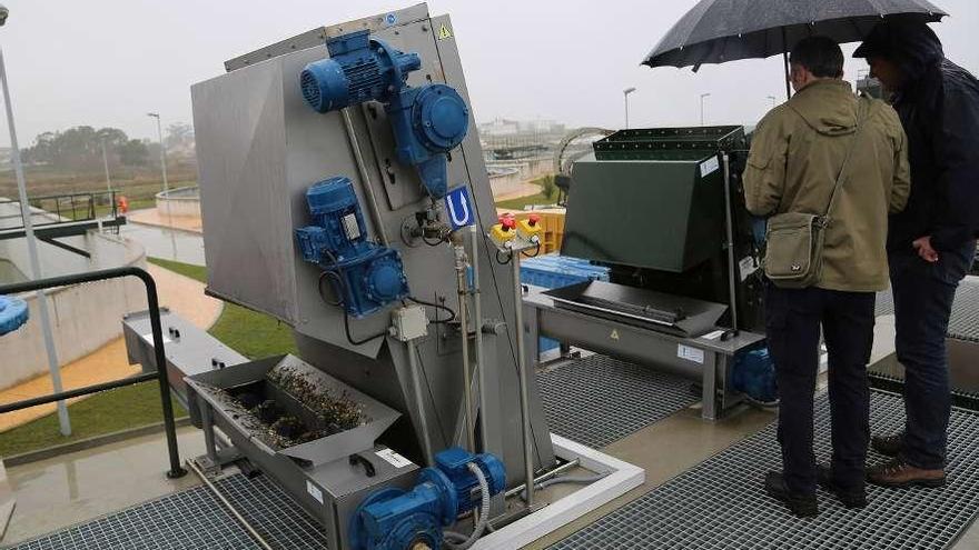 La Xunta encarga a Tragsa los trabajos de gestión y mantenimiento de la depuradora de O Grove