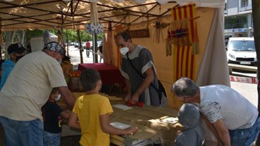 Más de 9.000 personas pasan por la Feria de Artes y Oficios Tradicionales de Monzón