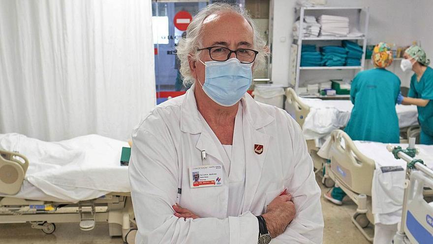 Calixto Sánchez Pérez: «Los efectos más graves del covid-19 me recuerdan al estado de un gran quemado»