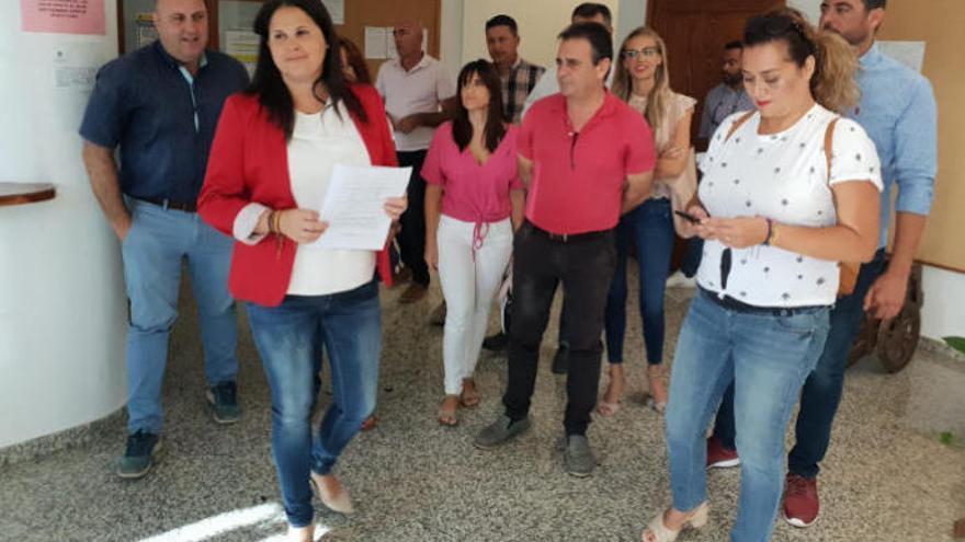 Presentan una moción de censura en Tuineje para echar a CC