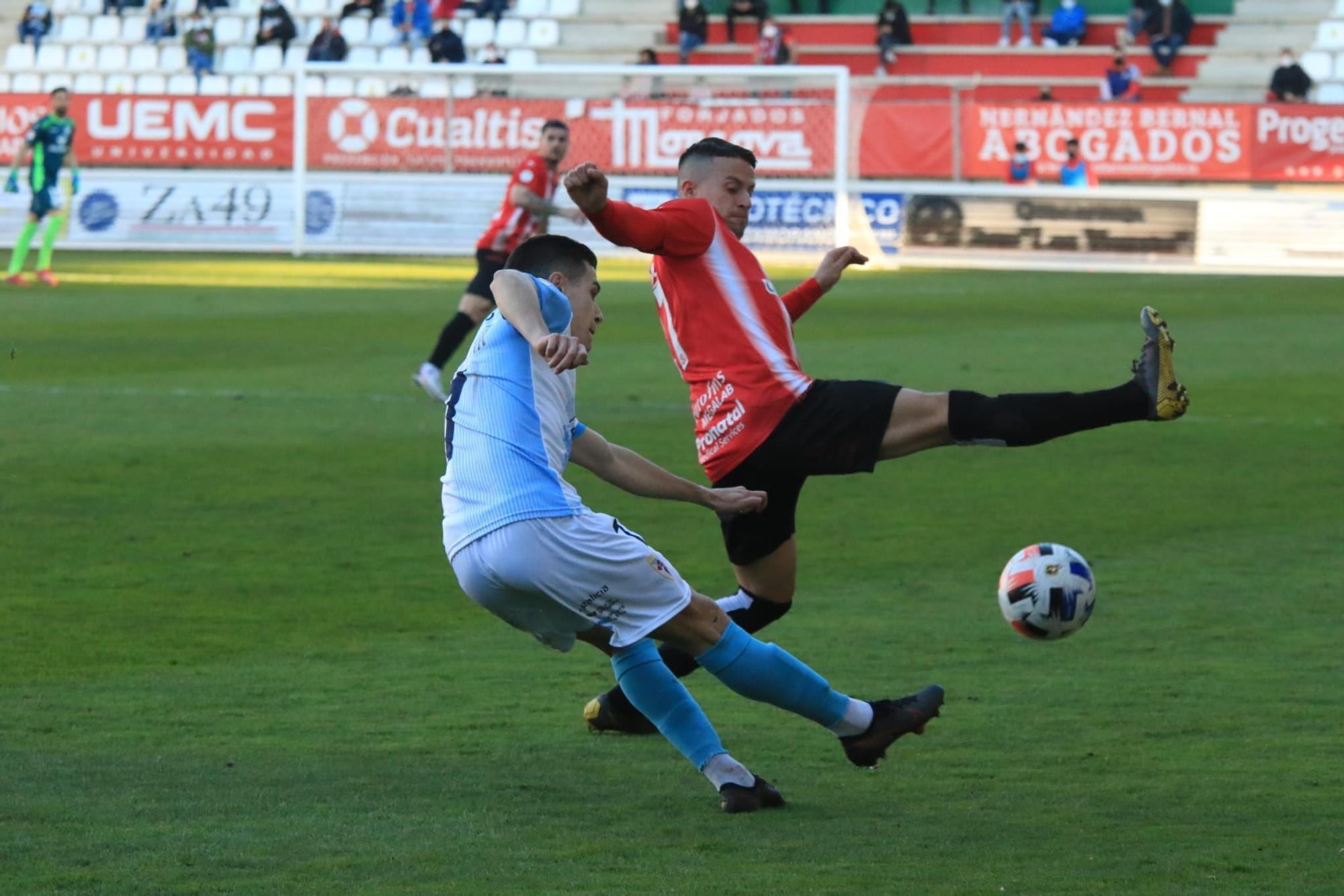 GALERÍA | Los mejores momentos del Zamora CF-Compostela