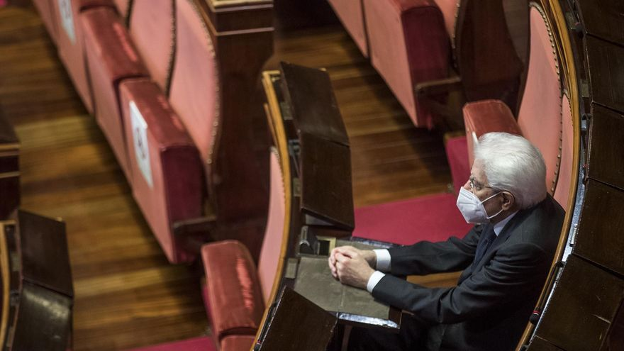 Mattarella renuncia a ser reelegido como presidente de Italia