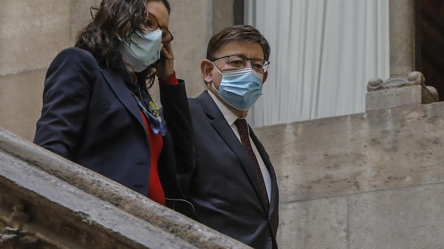 Oltra se suma a las críticas de Puig sobre el dumping fiscal de Madrid