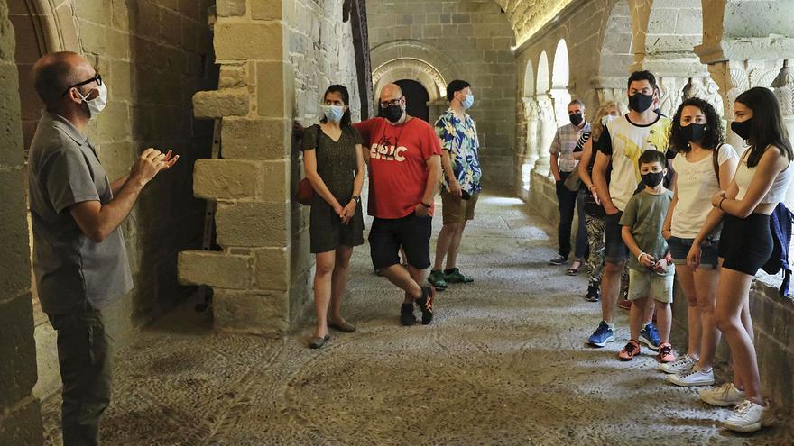 Món Sant Benet preveu un estiu amb tantes visites com l'any 2019