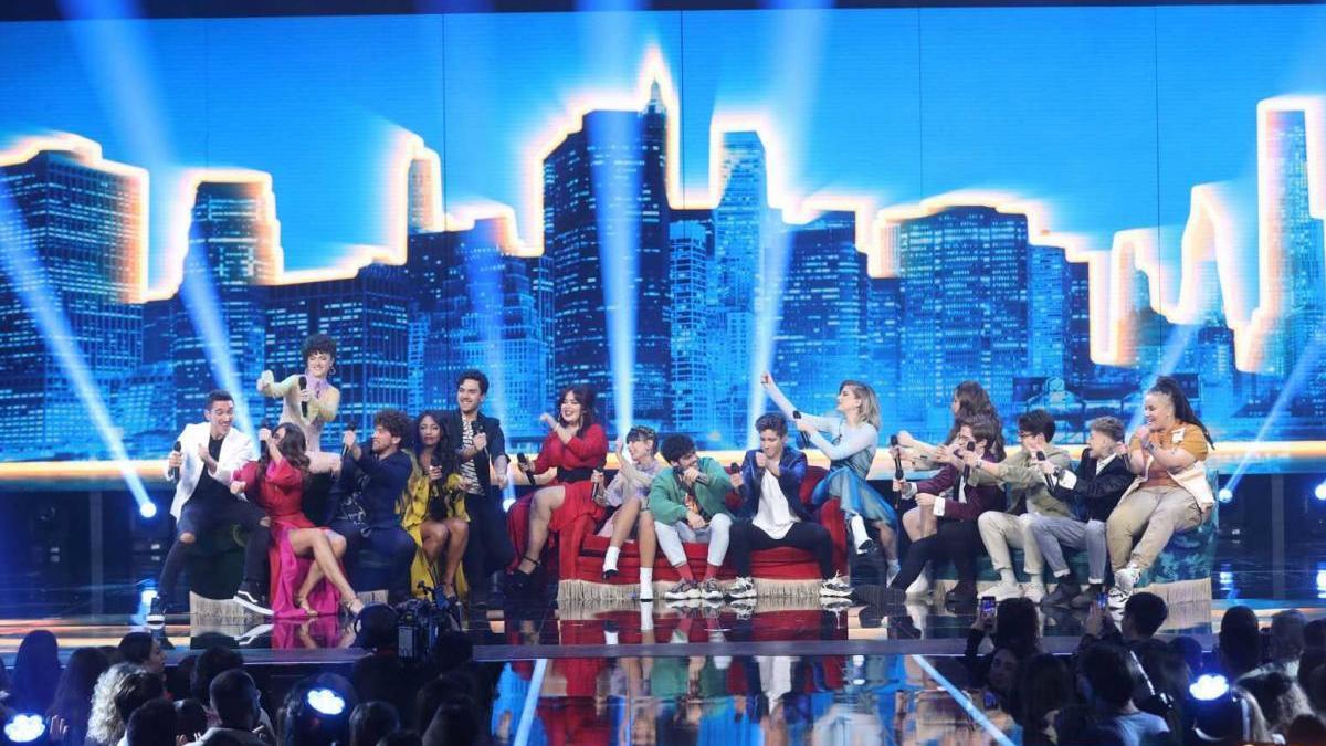 Los concursantes de la edición pasada de 'OT'.