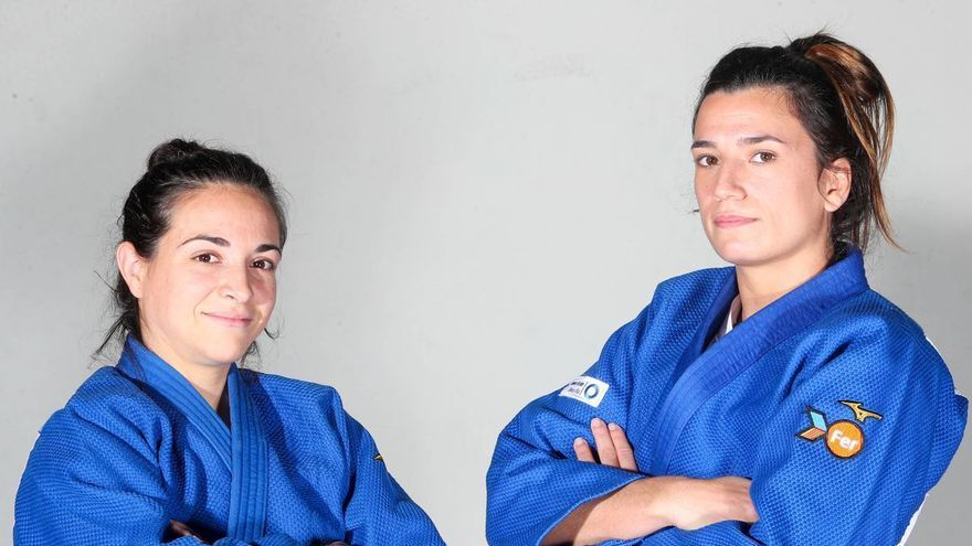 Julia Figueroa y Ana Pérez esperan su debut en Tokio