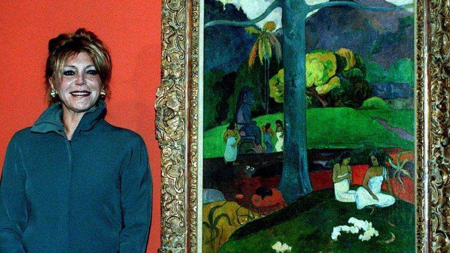 """Cultura plantea a Carmen Thyssen hacer una valoración de """"su colección privada"""""""