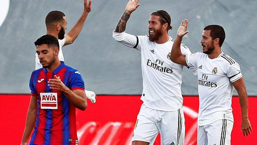 El Madrid assegura el triomf