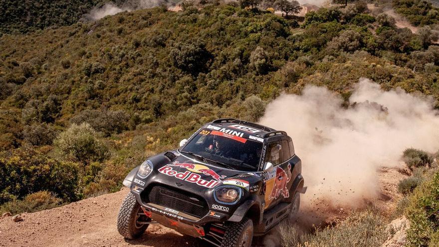 Doble triunfo español con Sainz y Barreda en un Rally Andalucía que pasa por Palma del Río