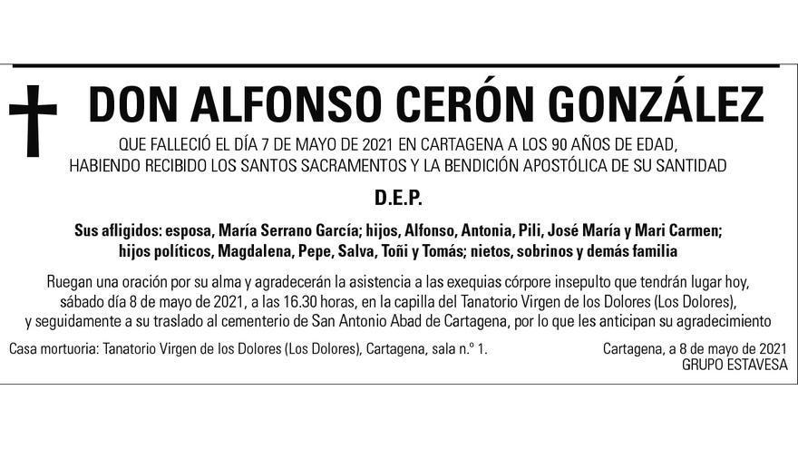D. Alfonso Cerón González