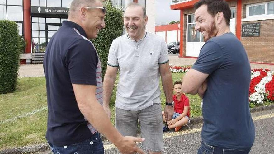 Los veteranos Rubén Suárez, Cundi y Cheryshev coinciden en Mareo