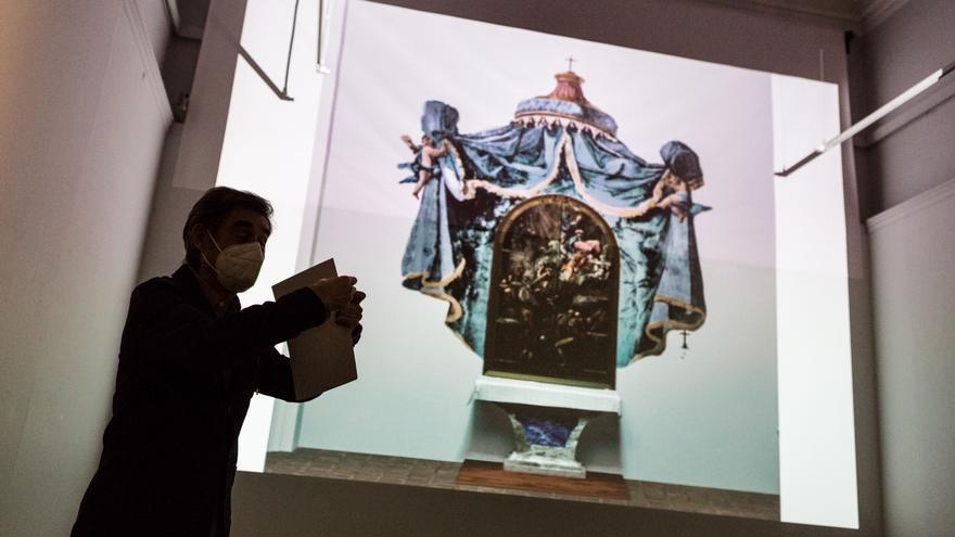 Descubre la reconstrucción de las pinturas perdidas de Goya en Fuendetodos