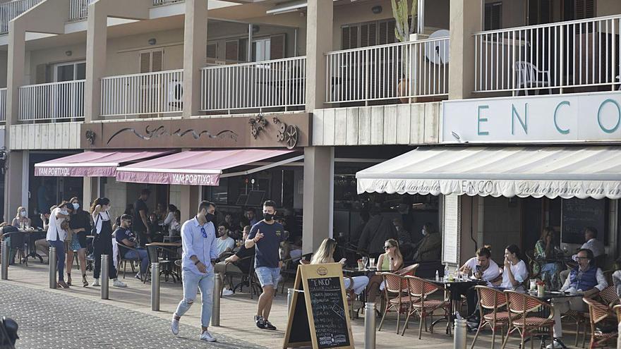 Bares y restaurantes de Mallorca podrán ampliar su aforo interior hasta el 75%