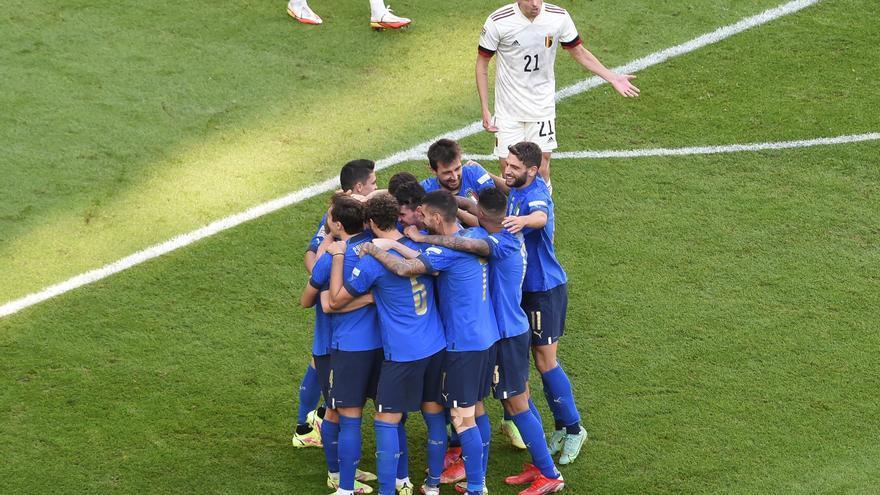 Italia derrota a Bélgica y acaba tercera la Liga de Naciones
