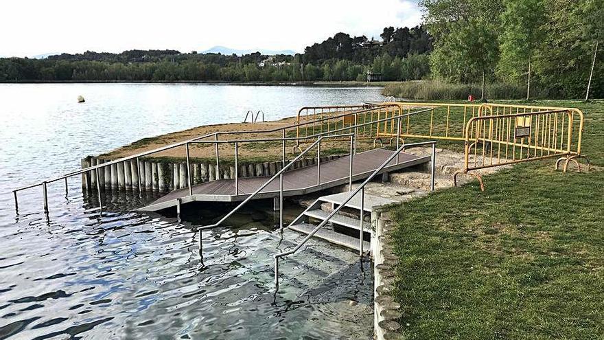 Milloren l'accés a l'aigua a la Caseta de Fusta de Banyoles