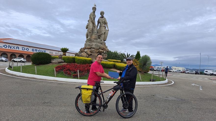 2.600 kilómetros dando pedales para recaudar fondos