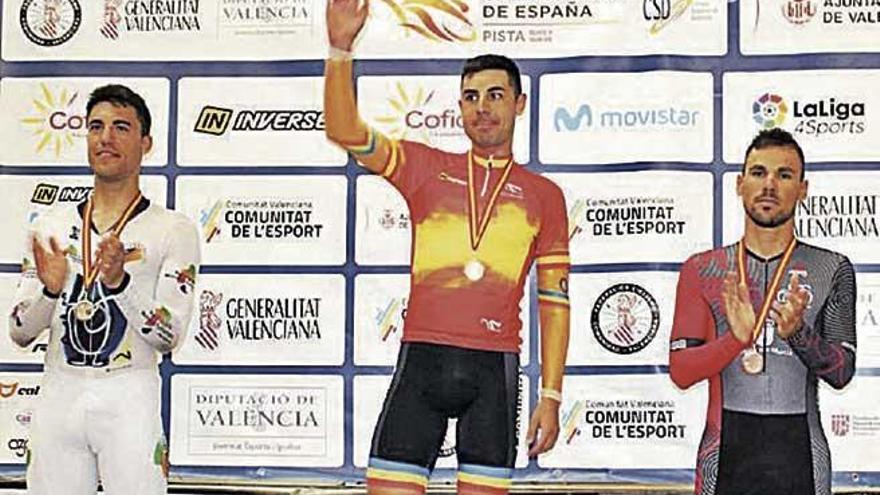 Plata y bronce de Albert Torres en la primera jornada del Campeonato de España de pista