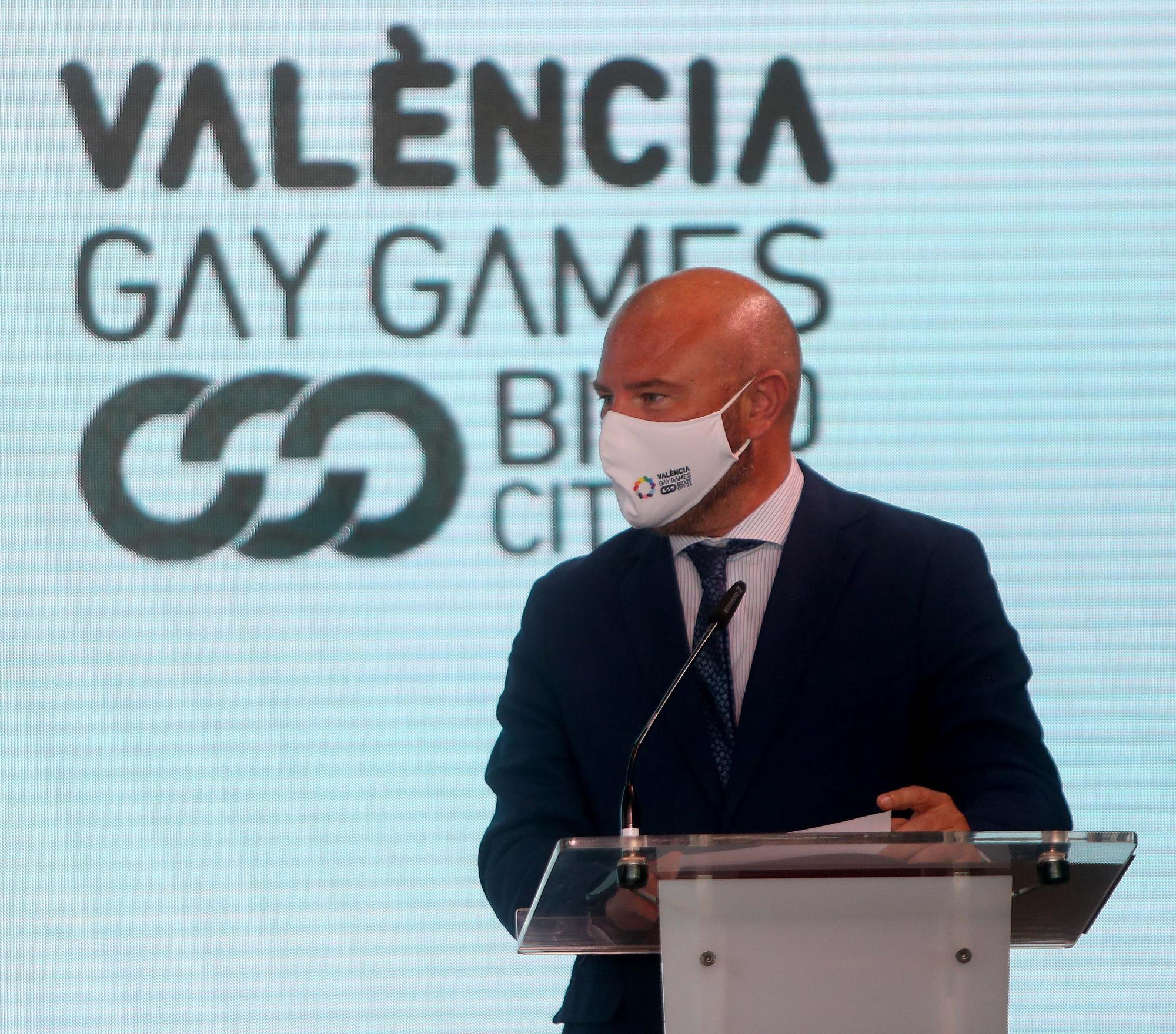 València presenta su candidatura a ser sede de los Gay Games en 2026