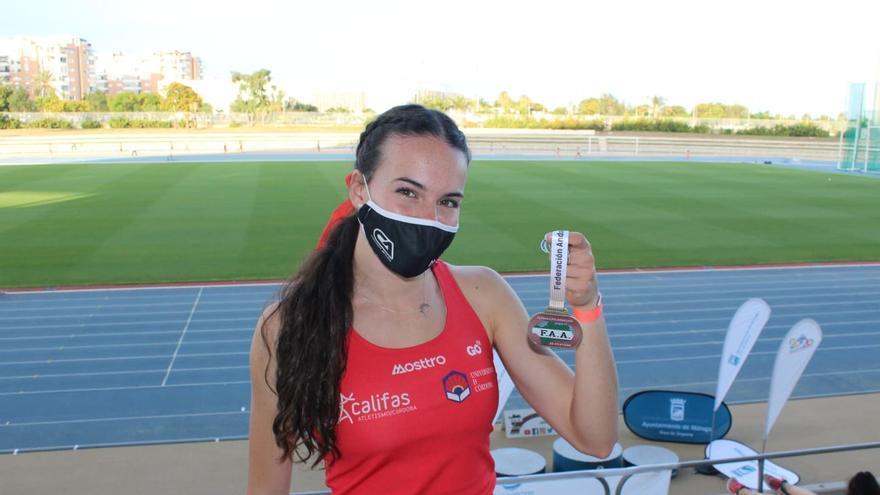 Carmen Avilés lidera los oros cordobeses en el campeonato andaluz absoluto