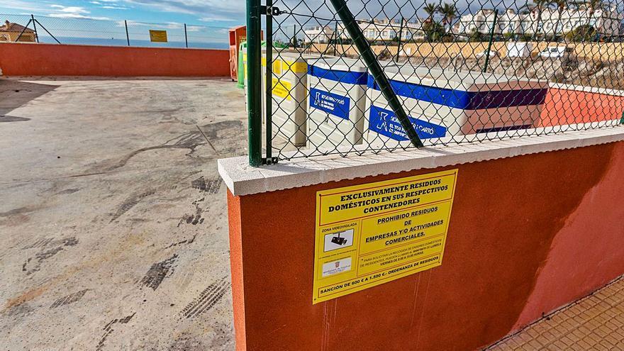 La Marina Baixa le declara la guerra a los vertidos ilegales en contenedores