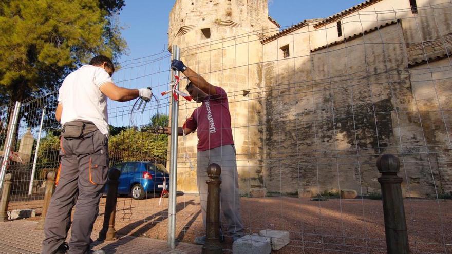 Previstas nuevas obras en el Alcázar de los Reyes Cristianos