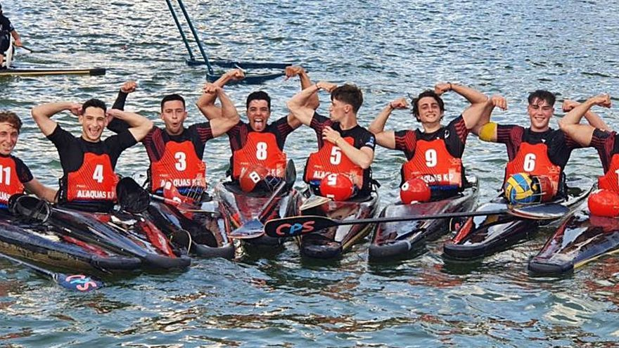 Plata para Alaquàs  en el torneo sub-21 de kayak en Tres Cantos