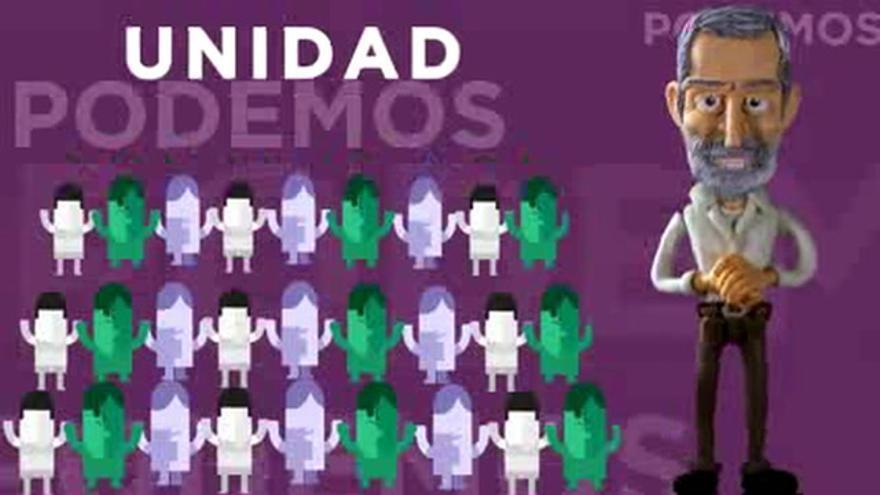 Un exJemad de plastilina en el último spot de Podemos