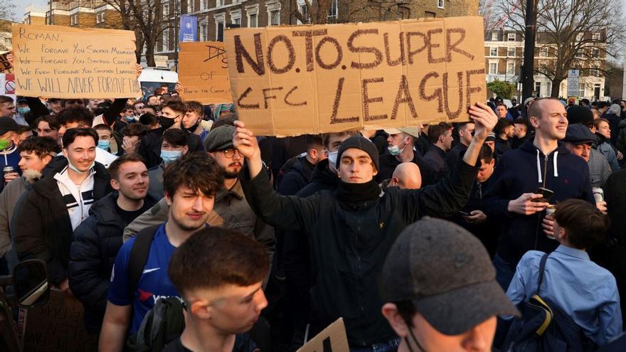 La Superliga agoniza: los seis clubs ingleses se retiran de la competición
