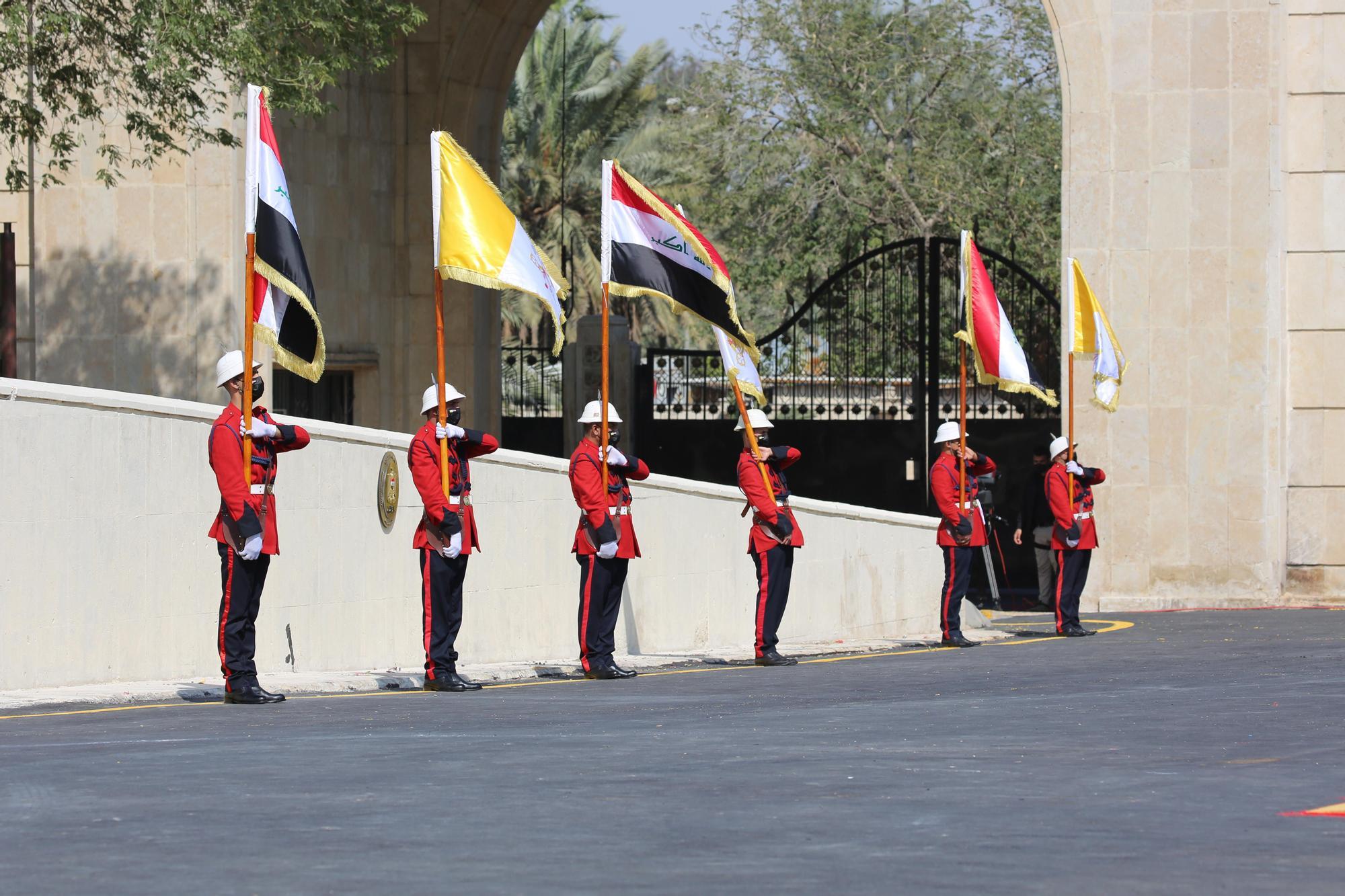 El papa Francisco realiza una visita de tres días a Irak