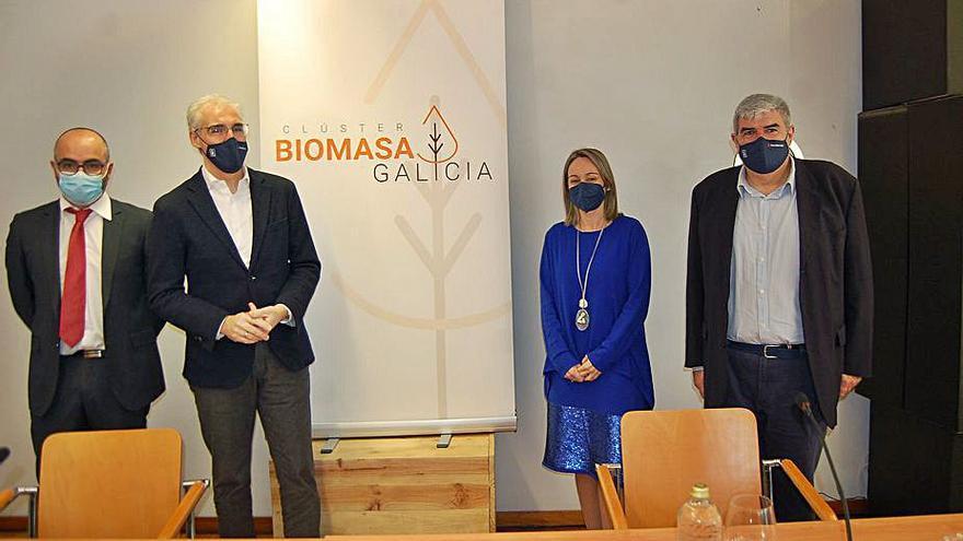 La Xunta aplaude la creación del Clúster de la Biomasa y garantiza apoyo económico