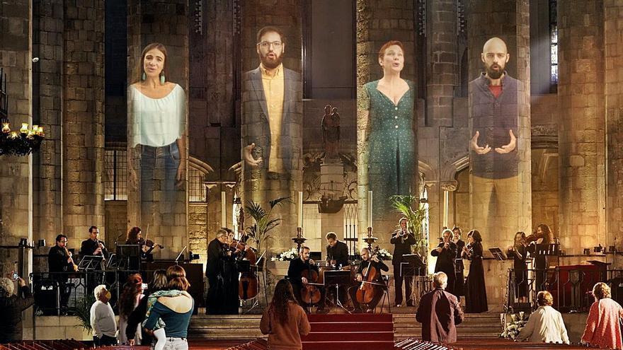 """Un """"Aleluya"""" coral de Händel entonado por voces aficionadas"""