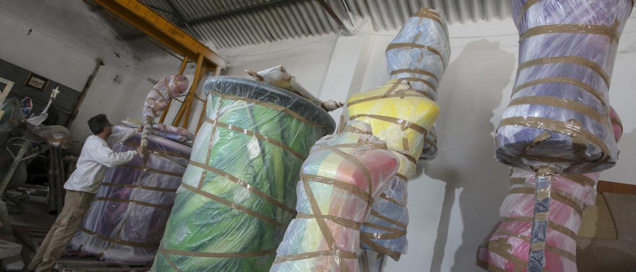 Las ayudas serán para el almacenaje, mantenimiento y restauración de monumentos no plantados por el covid