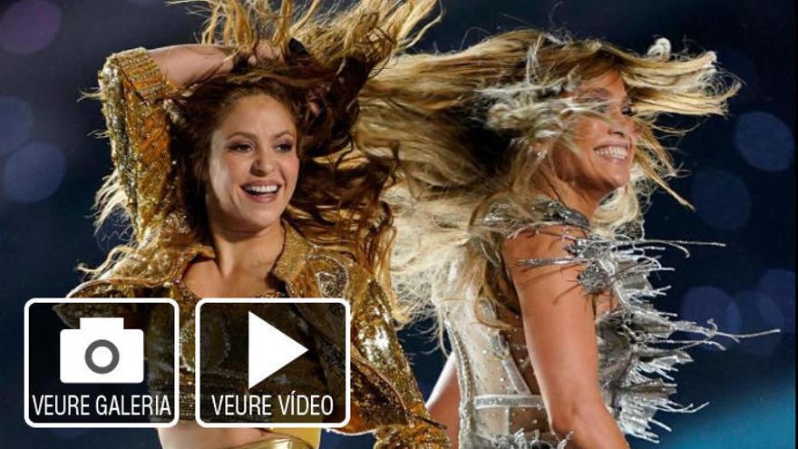 Protagonisme llatí en el descans de la Super Bowl amb Shakira i Jennifer Lopez