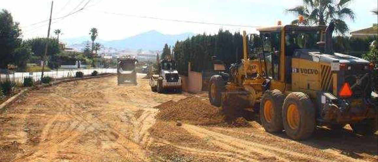 Onda inicia el asfaltado de la urbanización Beniparrell