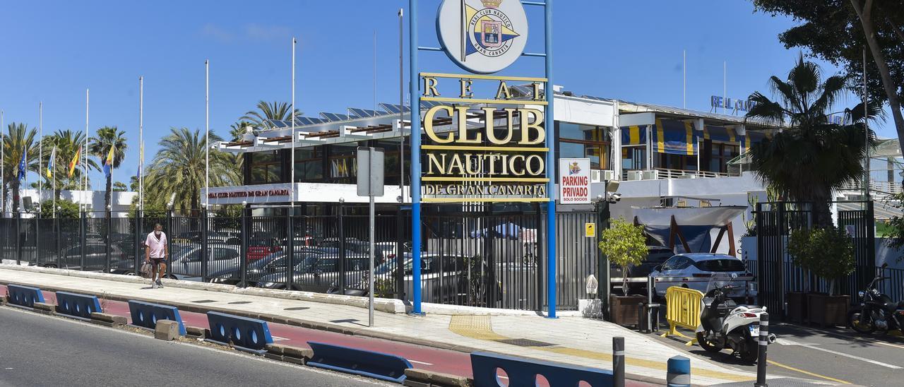 Fachada del Real Club Náutico de Gran Canaria