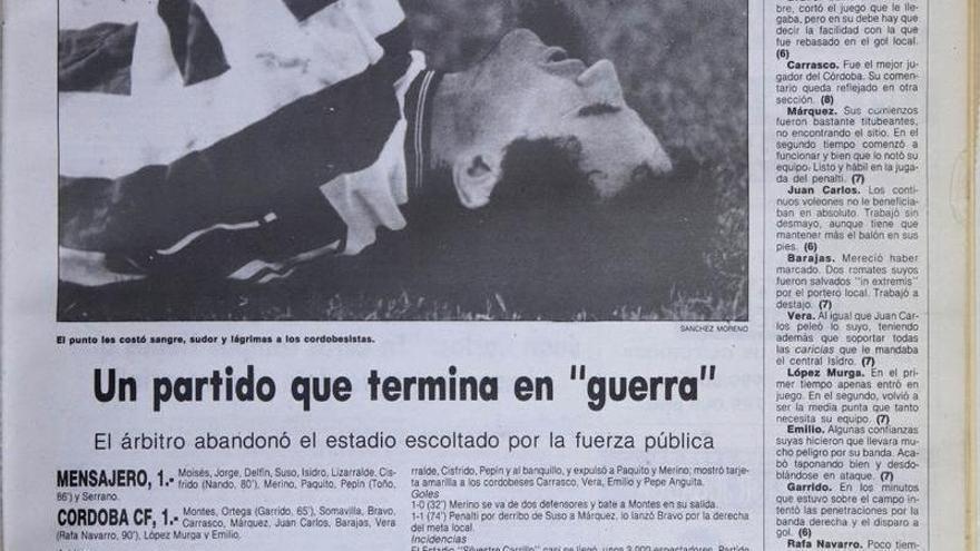 El Córdoba CF en el Silvestre Carrillo, ni con San Álvaro