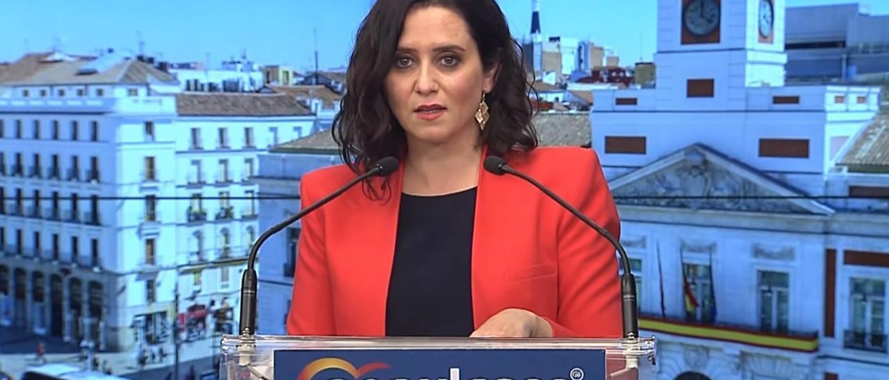 """4M.-Ayuso sostiene que """"Madrid no puede convertirse en Caracas"""" y ve una oportunidad histórica para asentar su proyecto"""