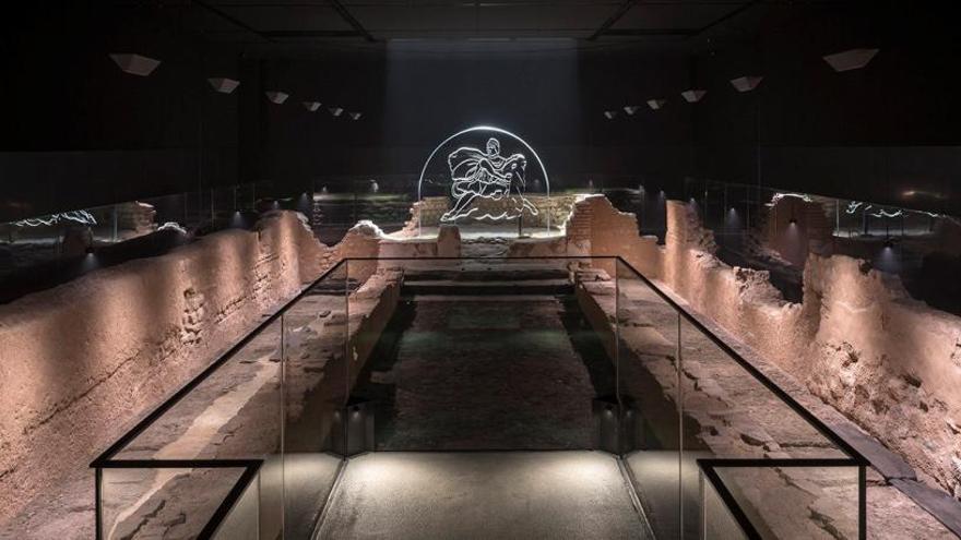 Londres devuelve su templo de Mitra a la ubicación escogida por los romanos