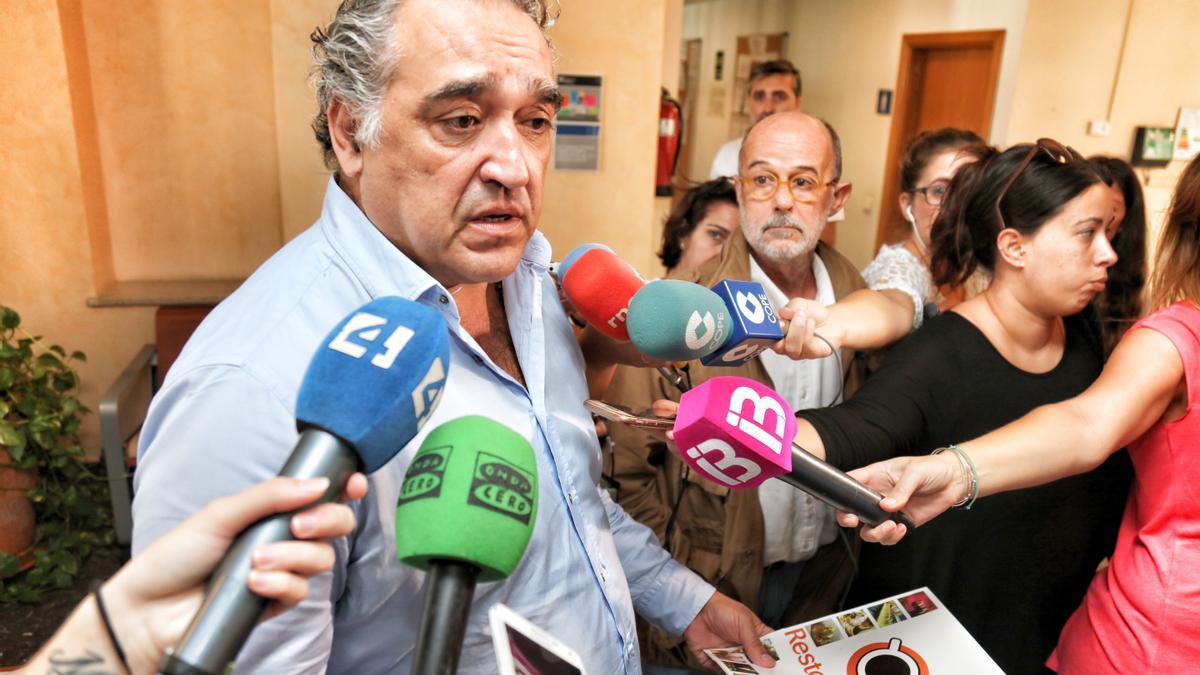 El presidente de Restauración CAEB, Alfonso Robledo