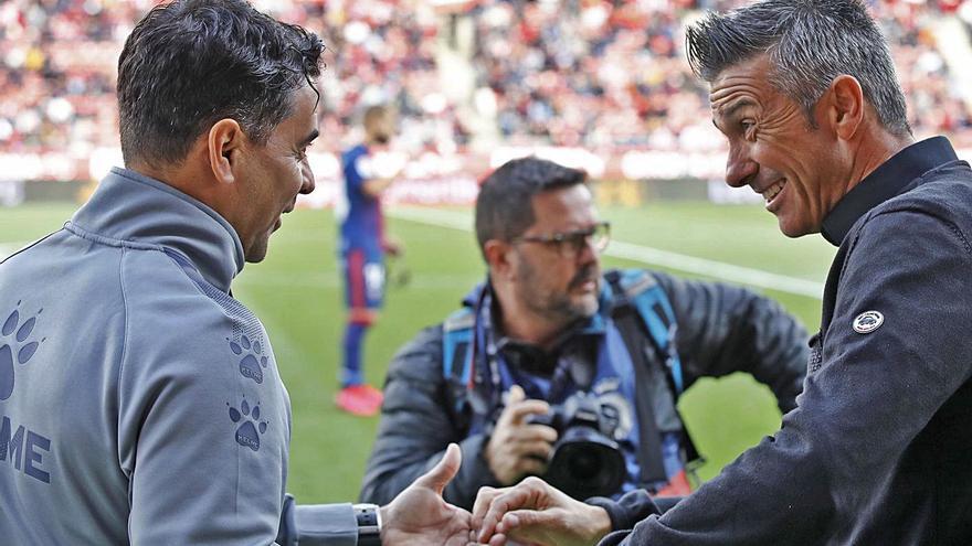 El Girona és un dels sis equips que estrenarà entrenador aquest curs